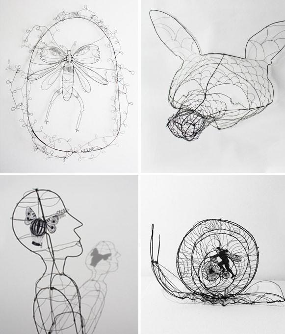 Charlotte Vinouze, objekter