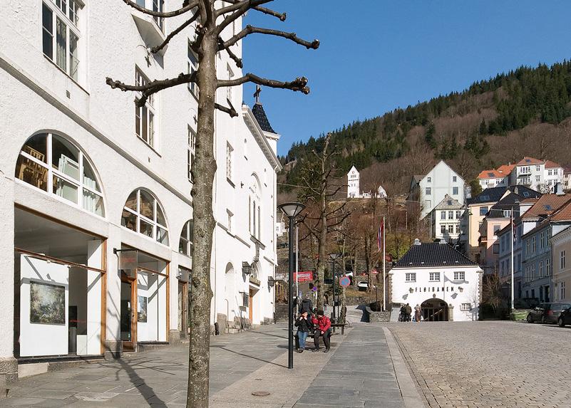 Galleri Allmenningen, ved Fløibanen, Bergen