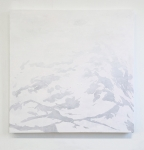 """A Quilt of White I<br> <span class=""""gallerysmall"""">100x100 kopi</span>"""