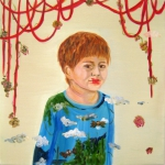 Laana mammas laeppstift_ olja paa duk_ 65x65